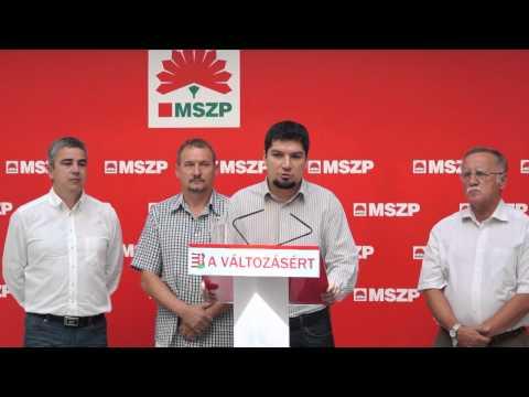 Az MSZP valódi megoldást kínál Kelet-Magyarország felzárkóztatására