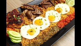 Indo Mee Ayam Kambing Daging Telur Dan Dot Dot