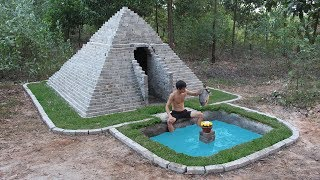 Build Pyramids And Fish Pool By Ancient Skill