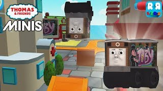 New Track The Express Course and New Engine Graffiti Toby - Thomas & Friends Minis