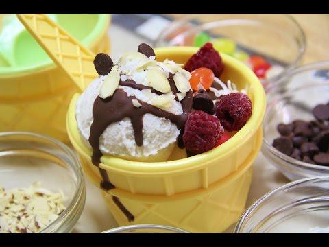 Video One Simple Ice Cream Recipe, Thousand Yummy Ideas!