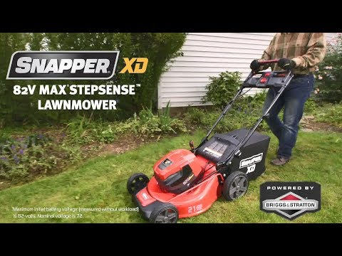 2019 Snapper XD 82V Max StepSense Automatic Drive Electric Lawn Mower (SXD21SSWM82) in Gonzales, Louisiana - Video 1