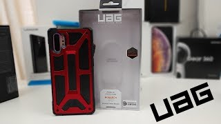 Samsung Galaxy Note 10 Plus UAG Red Crimson Monarch Case! Worth it!!