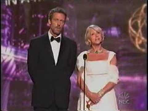 Hugh Laurie na rozdaniu nagród Emmy 2006