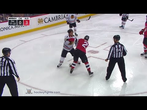Damon Severson vs. Ryan Hartman