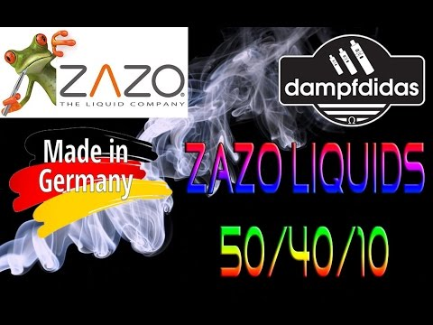 YouTube Video zu Zazo Tobacco 3 e-Liquid 10 ml