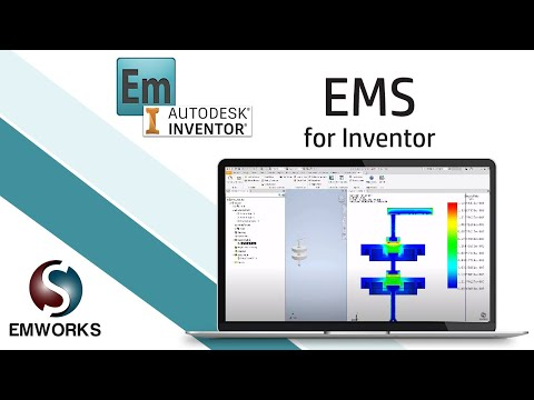 Simulation of a high voltage insulator using EMS for Inventor