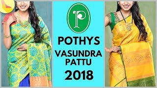Pothys Vasundra Pattu Wedding Saree Collection 2018 | Price Rs 8000 To Rs 10000