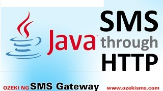 How to send sms in JAVA through HTTP (JAVA HTTP SMS example)