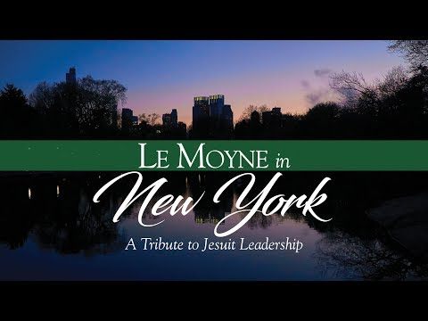 Le Moyne in NY Honoree Father George Coyne