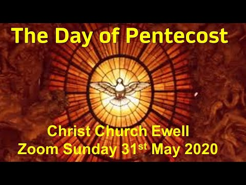 "Zoom Webinar CCE Sunday Service - ""Pentecost"" - May 31st"
