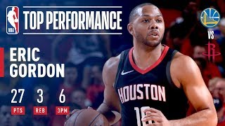 Eric Gordon Takes Off & Leads Houston To WCF Game 2 Victory - Video Youtube