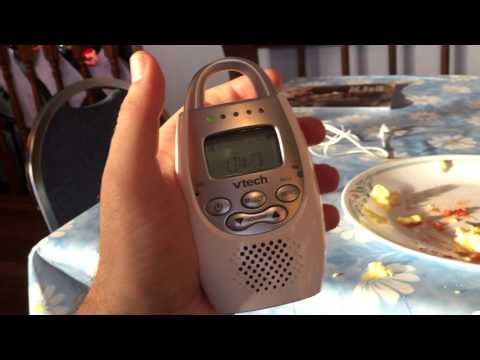 """Hal """"Over and out"""" there conversation via walkie-talkie baby monitor tech"""