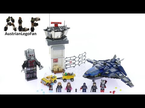 Vidéo LEGO Marvel Super Heroes 76051 : Le combat des super héros à l'aéroport