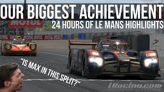 Our Biggest Sim Racing Achievement | 24 Hours Of Le Mans Highlights
