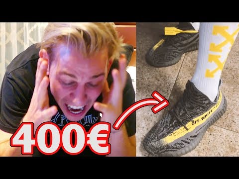 Der 400€ FAKE OFF-WHITE YEEZY **mir platzt der Kragen** 🤬😡