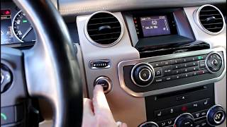 Случился нежданчик на Land Rover Discovery 4 Ленд Ровер Дискавери 4 2011 года