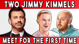 TWO JIMMY KIMMELS MEET FOR THE FIRST TIME   Talking With Myself Ep #2 (FBE)