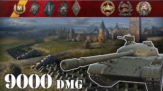 World Of Tanks  Object 140 .. 9000 Dmg