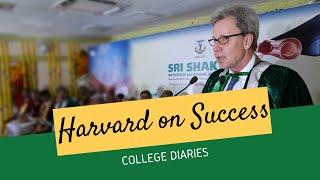 Four Habits that lead to Long-term Success | Prof. John Davis, Harvard Business School