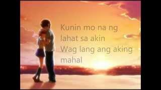 angeline quinto - kunin mo na ang lahat sa akin with lyrics (Kimi Ga Nozumu-Eien)