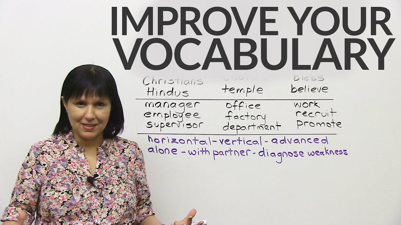 The Secret to English Vocabulary – How to remember more