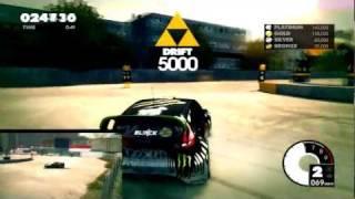 Dirt3 PC Gameplay: Gymkhana Drift Tutorial Ford Fiesta