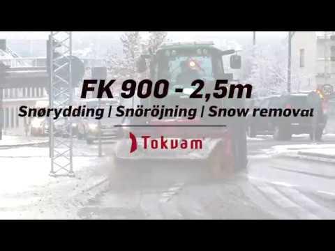 Tokvam Feiekost FK 2,5 - 900 (200CCM) - film på YouTube
