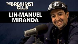 LinManuel Miranda Talks Hip Hop Influences Puerto Rico Relief & More
