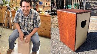 Building a cajon (box drum), with Paul