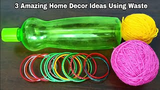 3 Amazing Home Decor Ideas Using Waste Material | Superb Home Decor Ideas
