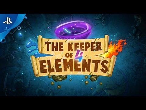 The Keeper Of 4 Elements - Gameplay Trailer | PS4, PS Vita thumbnail