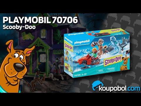 Vidéo PLAYMOBIL Scooby-Doo! 70706 : Scooby-Doo avec abominable spectre des neiges