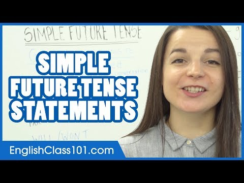 Simple Future Tense - WILL / GOING TO / BE+ING