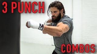 BOXING FAT LOSS WORKOUT | BEGINNER 3 PUNCH COMBOS | Heavy Bag (Pt. 2) | Lex Fitness