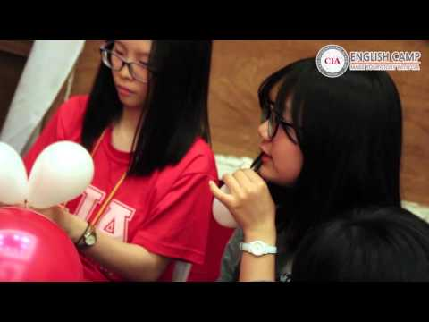 CIA English Camp Balloon Making