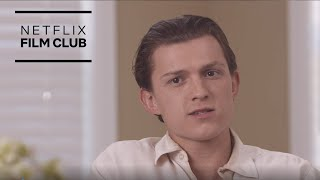 How Tom Holland Changed his Accent for The Devil All the Time | Netflix
