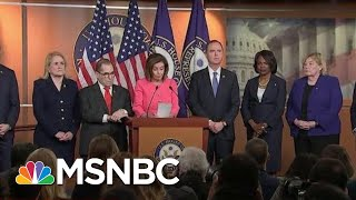 New Incriminating Evidence Against President As House Votes To Send Articles | Deadline | MSNBC