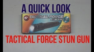 A Quick Look Tactical Force Stun Gun