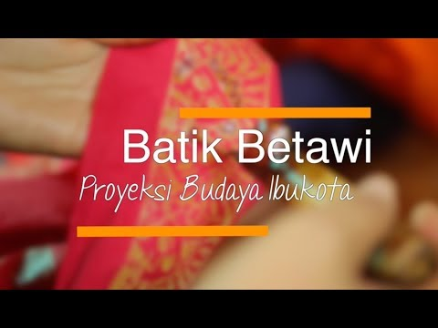 Batik Betawi, Proyeksi Budaya Ibukota