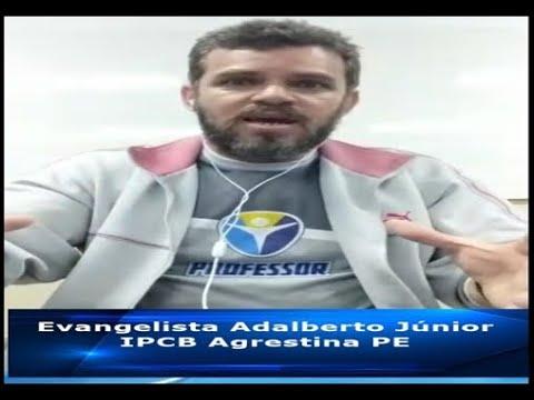 Irmão Adalberto Júnior - fala sobre o dia da Reforma Protestante