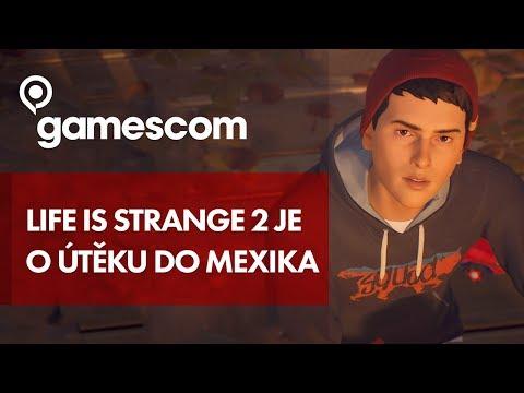 Téma příběhu Life is Strange 2 je útěk do Mexika