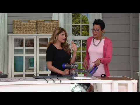 Dyson V8 Animal Cordfree Vacuum w/Tools and HEPA Filtration on QVC