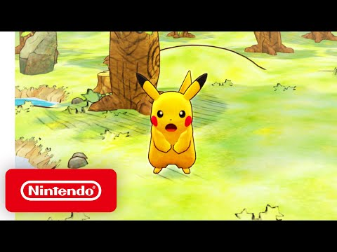 Pokémon Mystery Dungeon: Rescue Team DX – Launch Trailer – Nintendo Switch