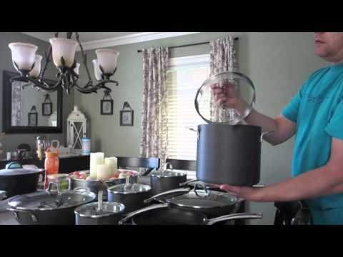 Calphalon Classic Nonstick 14pc Cookware Unboxing