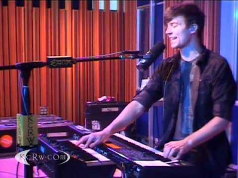 Matt and Kim performing