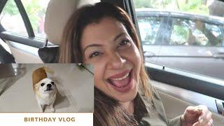 My Dog Singing Birthday Song for Me   My Birthday Vlog :-)