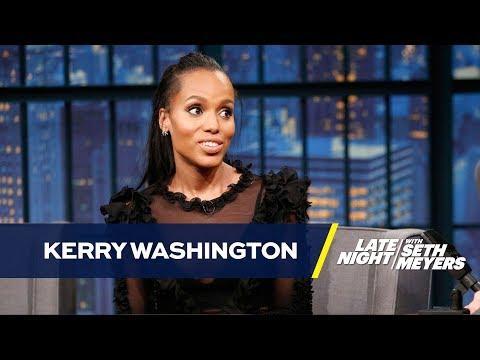 Kerry Washington Has Her Eye on Scandal's Prada Bags