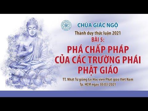 Phá chấp pháp của các trường phái Phật giáo l Thành duy thức luận
