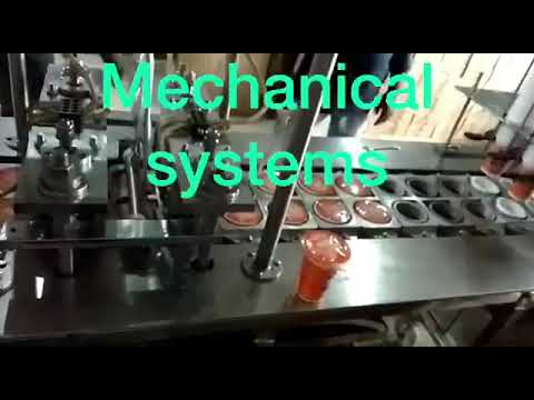 Automatic Water Cup Filling Machine